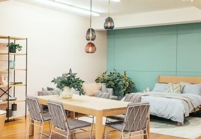 Przestrzenne mieszkania jednopokojowe